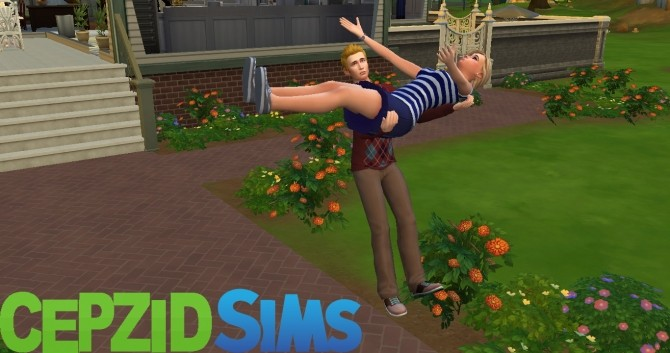 Sims 4 I Will Save You From Villain Pose by cepzid at SimsWorkshop