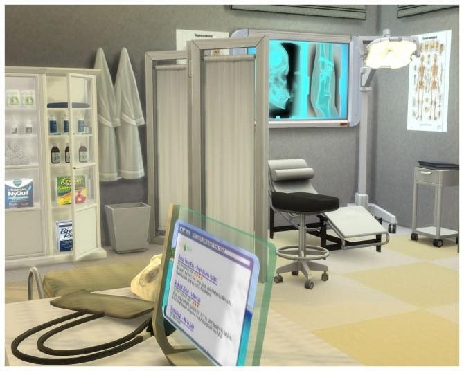 Willow Creek Hospital At Nagvalmi 187 Sims 4 Updates