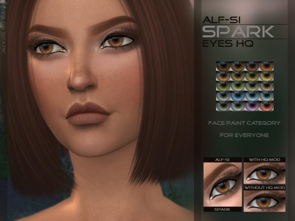 Sims 4 Spark Eyes HQ by Alf si at TSR