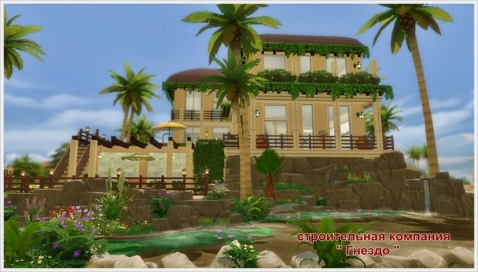Eleon house at Sims by Mulena image 8114 670x381 Sims 4 Updates