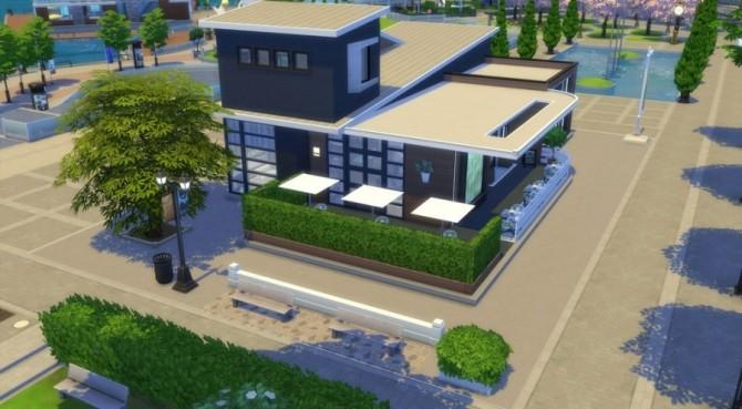 Sims 4 Le café zen by Pyrénéa at Sims Artists