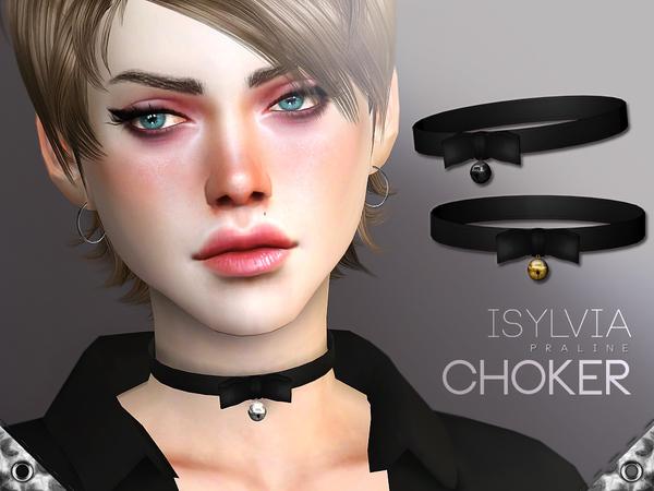 Isylvia Choker by Pralinesims at TSR image 8211 Sims 4 Updates