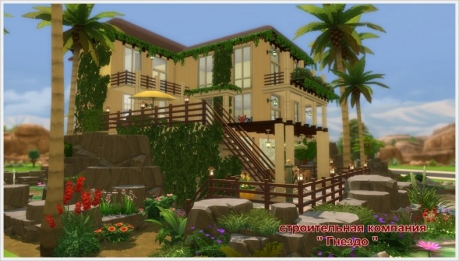 Eleon house at Sims by Mulena image 8213 670x381 Sims 4 Updates