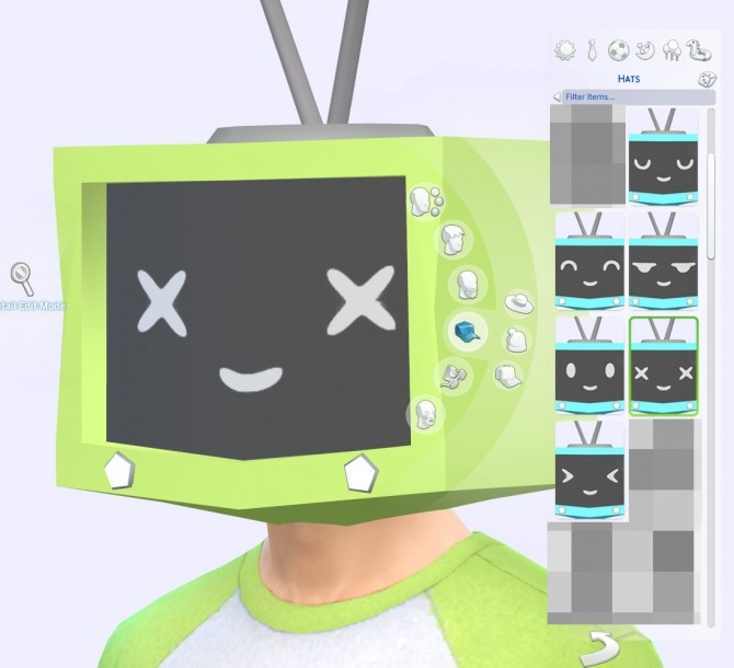 Tv Head By Obj At Mod The Sims 187 Sims 4 Updates