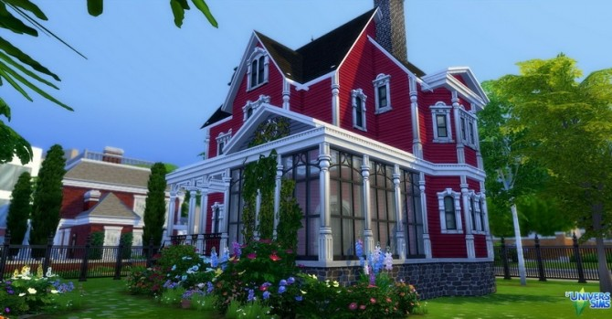 Sims 4 VICTORY house by audrcami at L'UniverSims