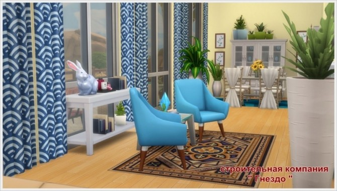 Eleon house at Sims by Mulena image 8511 670x381 Sims 4 Updates