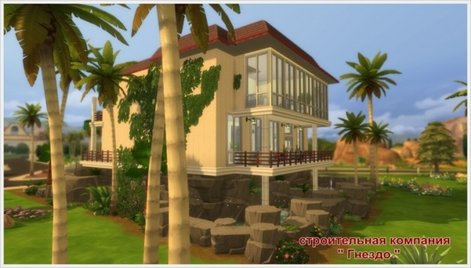 Eleon house at Sims by Mulena image 8711 670x381 Sims 4 Updates