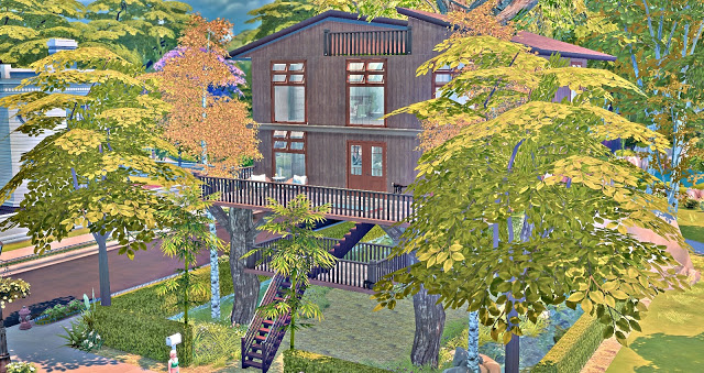 Sims 4 Tree House at Lily Sims