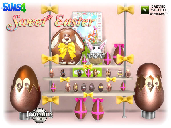 Sweet easter set by jomsims at TSR image 925 Sims 4 Updates