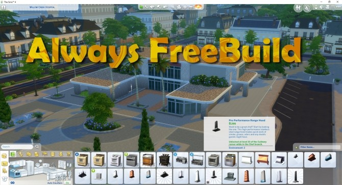 Always FreeBuild by TwistedMexi at Mod The Sims image 9312 670x363 Sims 4 Updates