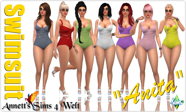 Anita swimsuits at Annett's Sims 4 Welt image 10115 Sims 4 Updates