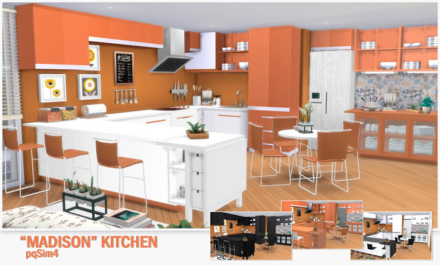 Kitchen Madison at pqSims4 image 1023 Sims 4 Updates