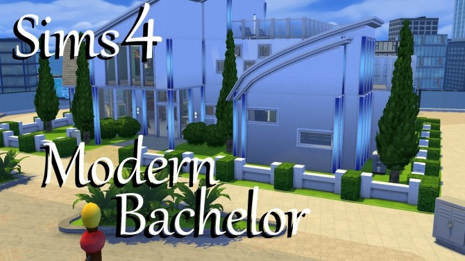 Modern Bachelor house by PolarBearSims at Mod The Sims image 1029 670x377 Sims 4 Updates