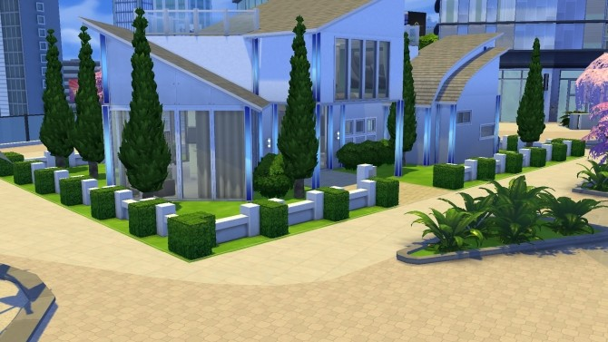 Modern Bachelor house by PolarBearSims at Mod The Sims image 1037 670x377 Sims 4 Updates