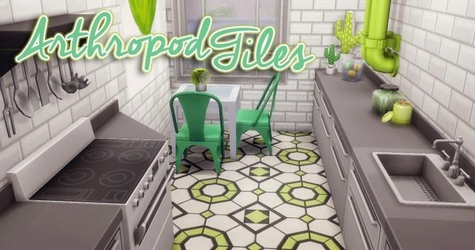 Arthropod Tiles at Hamburger Cakes image 1038 670x353 Sims 4 Updates