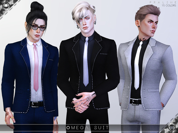 Omega Suit by Pralinesims at TSR image 1039 Sims 4 Updates