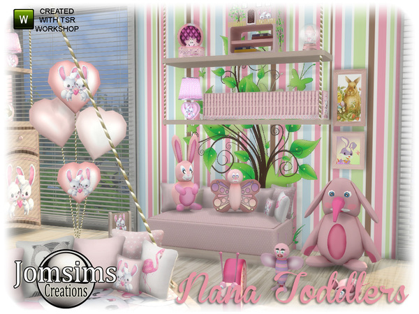 Nana toddlers bedroom by jomsims at TSR image 1040 Sims 4 Updates