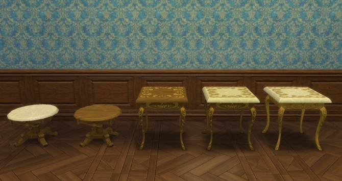 Rococo Objects converted by TheJim07 at Mod The Sims image 105131 670x355 Sims 4 Updates