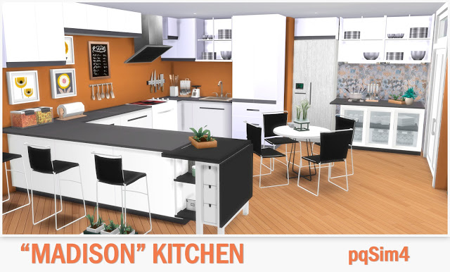 Kitchen Madison at pqSims4 image 1054 Sims 4 Updates