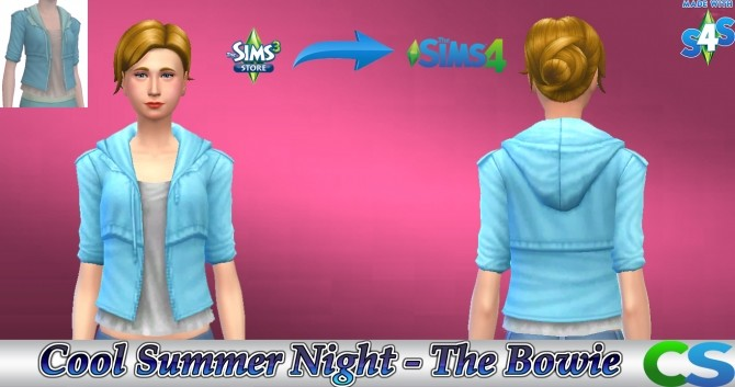 Sims 4 Cool Summer Night The Bowie by cepzid at SimsWorkshop