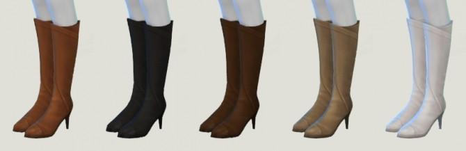 Warm Heels at Pickypikachu image 10611 670x217 Sims 4 Updates