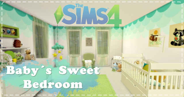 Baby´s Sweet Bedroom at Lily Sims image 1069 Sims 4 Updates