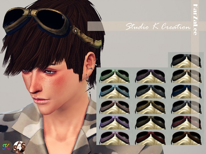 Steampunk goggles at Studio K Creation image 1072 670x502 Sims 4 Updates