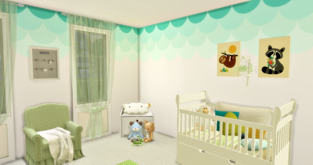 Baby´s Sweet Bedroom at Lily Sims image 1077 Sims 4 Updates