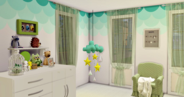 Baby´s Sweet Bedroom at Lily Sims image 1087 Sims 4 Updates