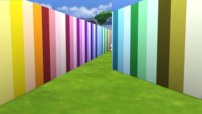 Sims 4 Color Me Gorgeous Painted Walls by Snowhaze at Mod The Sims