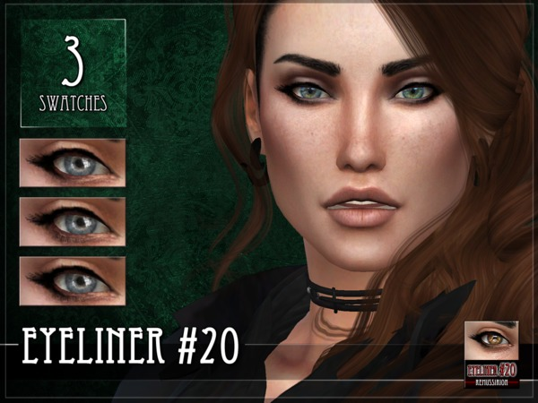 Eyeliner #20 by RemusSirion at TSR image 1100 Sims 4 Updates