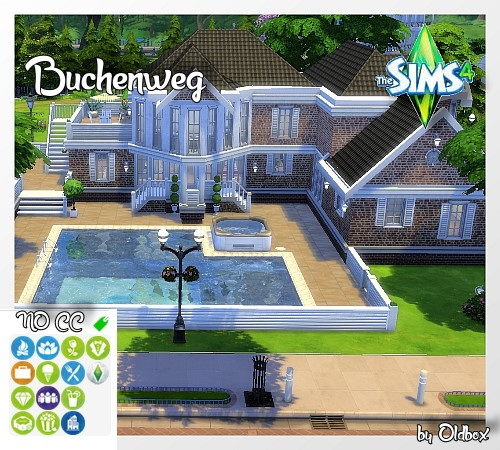 Sims 4 Family house by Oldbox at All 4 Sims