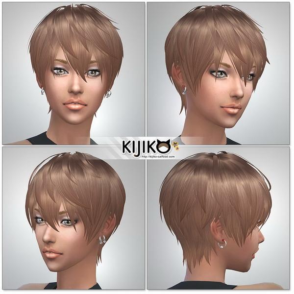 Loves to Swim hair TS4 edition at Kijiko image 1123 Sims 4 Updates