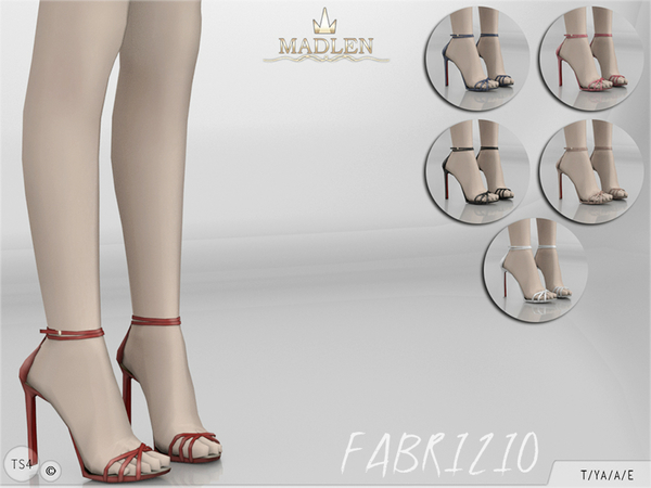 Madlen Fabrizio Shoes by MJ95 at TSR image 1129 Sims 4 Updates