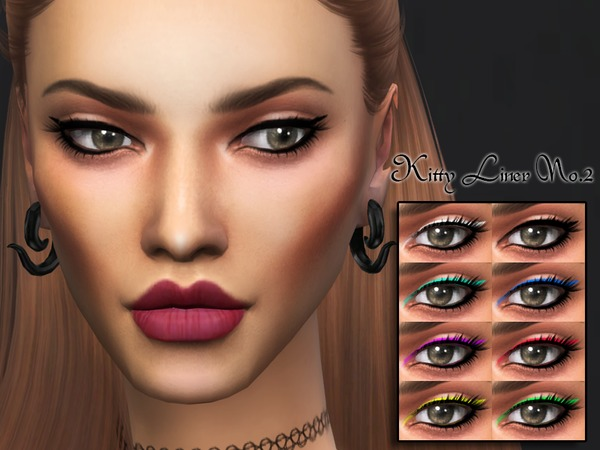 KM Kitty Liner No.2 by Kitty.Meow at TSR image 1130 Sims 4 Updates