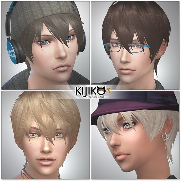 Loves to Swim hair TS4 edition at Kijiko image 1132 Sims 4 Updates