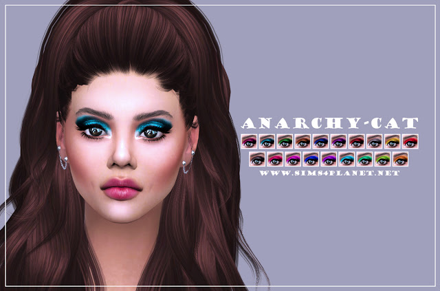 Eyeshadow #8 at Anarchy Cat image 1135 Sims 4 Updates