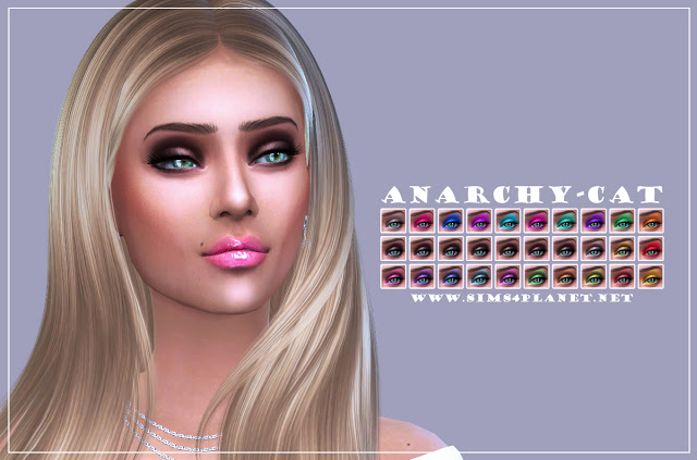 Eyeshadow #7 at Anarchy Cat image 1146 Sims 4 Updates