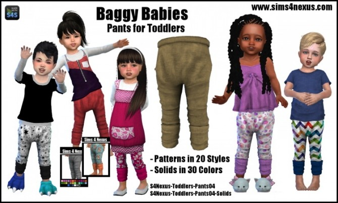 Baggy Babies by SamanthaGump at Sims 4 Nexus image 1148 670x402 Sims 4 Updates