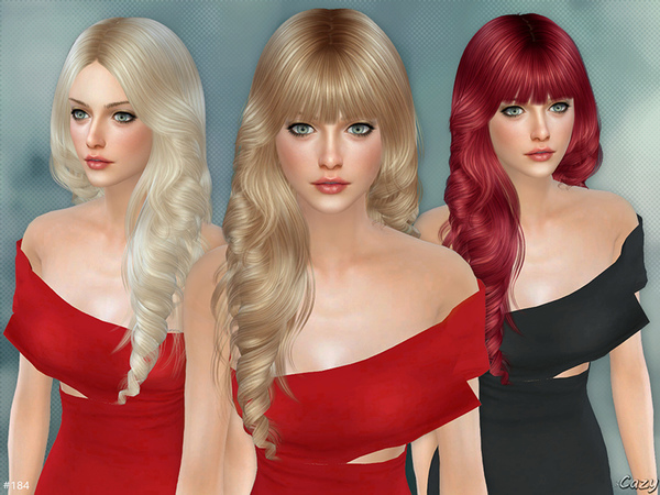 Lisa Female Hairstyle Set by Cazy at TSR image 1160 Sims 4 Updates