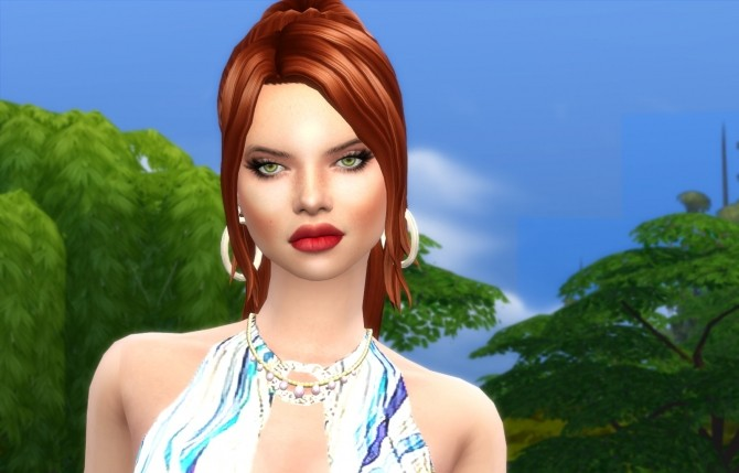 Sims 4 Redhead at Sims for you