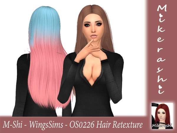 M Shi WingsSims OS0226 Hair Retexture by mikerashi at TSR image 1175 Sims 4 Updates