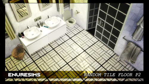 Random Tile Floor P2 at Enure Sims image 11811 Sims 4 Updates