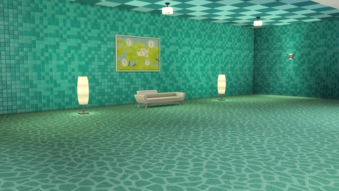 Sims 4 Color Me Gorgeous Ceiling Tiles by Snowhaze at Mod The Sims