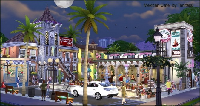 Mexican cafe and restaurant at Tanitas8 Sims image 12112 670x357 Sims 4 Updates