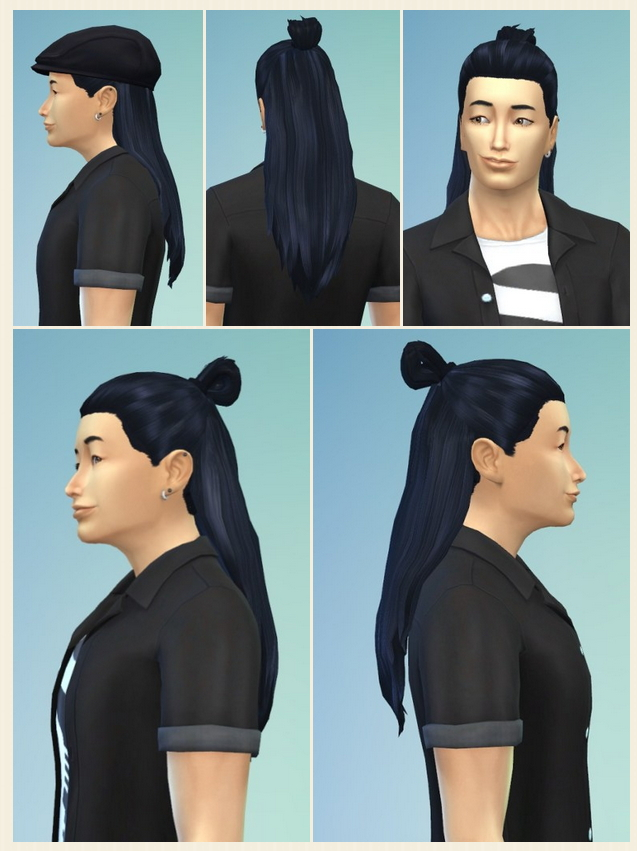 Sims 4 ESC Hairstyle Male at Birksches Sims Blog