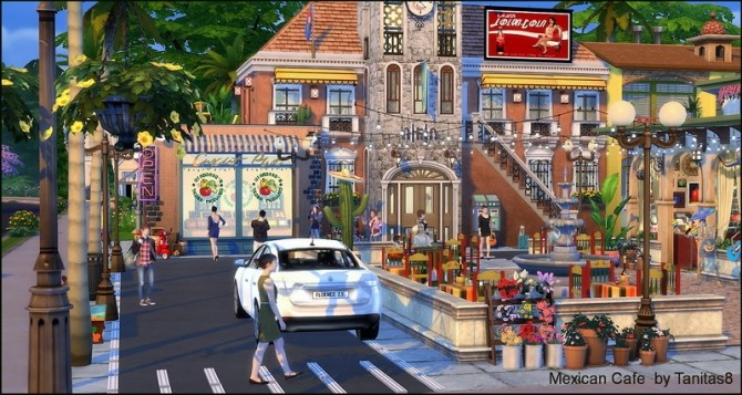 Mexican cafe and restaurant at Tanitas8 Sims image 1228 670x357 Sims 4 Updates