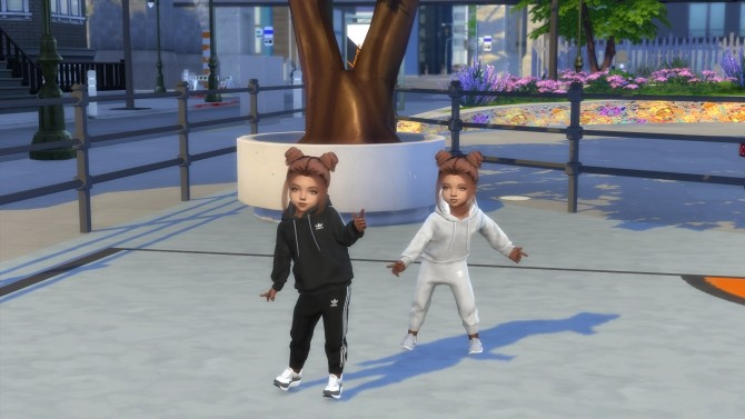 FEMALE TWIN TODDLERS  + THEIR BEDROOM at PortugueseSimmer image 1238 670x377 Sims 4 Updates