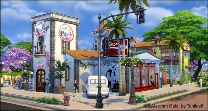 Mexican cafe and restaurant at Tanitas8 Sims image 1267 670x357 Sims 4 Updates