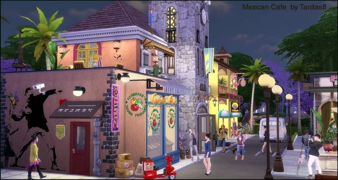 Mexican cafe and restaurant at Tanitas8 Sims image 1277 670x357 Sims 4 Updates